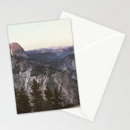 Great Nights in Yosemite Stationery Cards