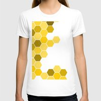 honeycomb T-shirts featuring Honeycomb by KelC