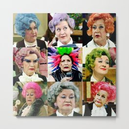The Faces of Slocombe Metal Print