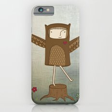 Little Owl Girl Slim Case iPhone 6s
