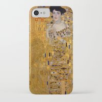 gustav klimt iPhone & iPod Cases featuring Adele Bloch-Bauer I by Gustav Klimt by Palazzo Art Gallery