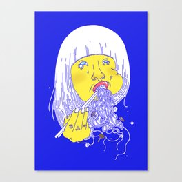 FEED ME 1 Canvas Print