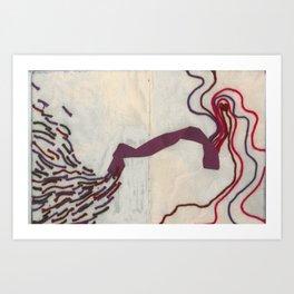 Caminos II Art Print
