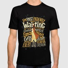 Smashing Every Expectation Black MEDIUM Mens Fitted Tee