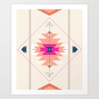 kilim Art Prints featuring Kilim Inspired by Nayla Smith