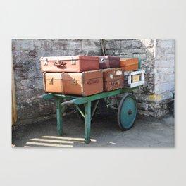 Suitcases Canvas Print