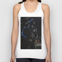 superhero Tank Tops featuring Superhero by VAWART