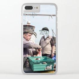 Fishermen & Fishman Clear iPhone Case