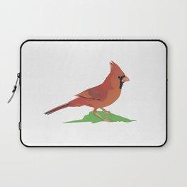 Northern Cardinal Bird Laptop Sleeve