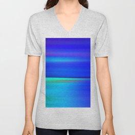 Night light abstract Unisex V-Neck