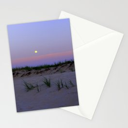 Nighttime at the Beach Stationery Cards