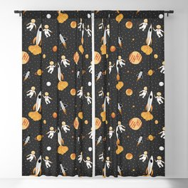 Astronauts in Space Blackout Curtain
