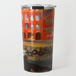 Bergen City Painting Travel Mug