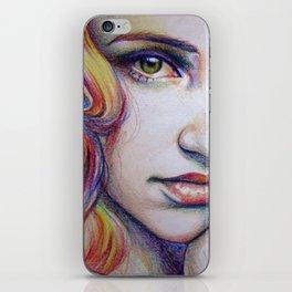 crayolagron iPhone Skin