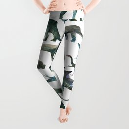Dinosaur Pattern Leggings