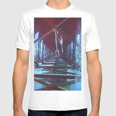 Tangled Mens Fitted Tee White SMALL