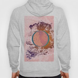 Abstract Pink Grunge Space Hoody