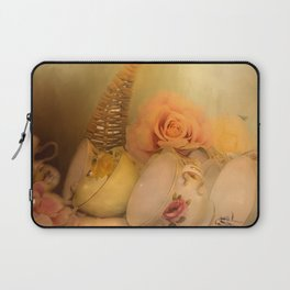 Teacups and Roses 3 Laptop Sleeve