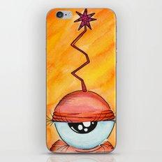 Aliem Unamused  iPhone & iPod Skin