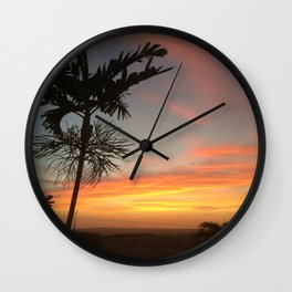 Country Sunsets Wall Clock