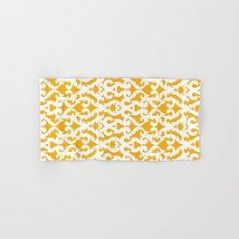 Modern Baroque Yellow Hand & Bath Towel