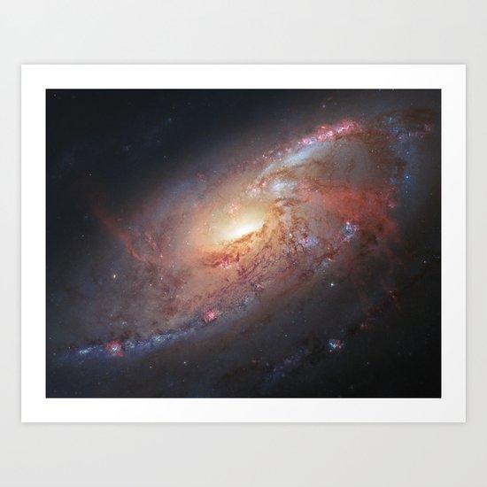 """Spiral Galaxy"" Art Print"
