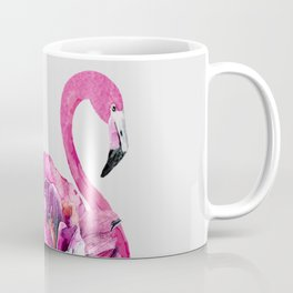 Flower Flamingo Coffee Mug