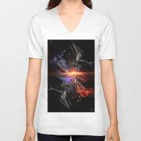 bar V-neck T-shirts featuring Dance Bar by Fine2art