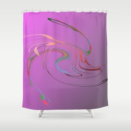 Power and positive energy, 17 Shower Curtain