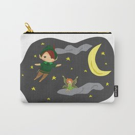 Peter Pan on the Night Sky Carry-All Pouch