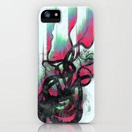 aurora in the water iPhone Case