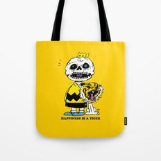 Happiness Is A Tiger Tote Bag