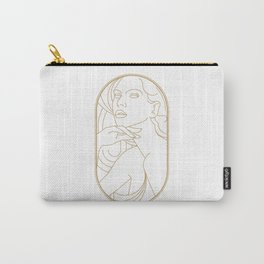 Girl Art Deco 05 Carry-All Pouch