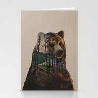 lake Stationery Cards featuring Bear Lake by Davies Babies