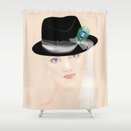 Fascinators: Fedora Shower Curtain