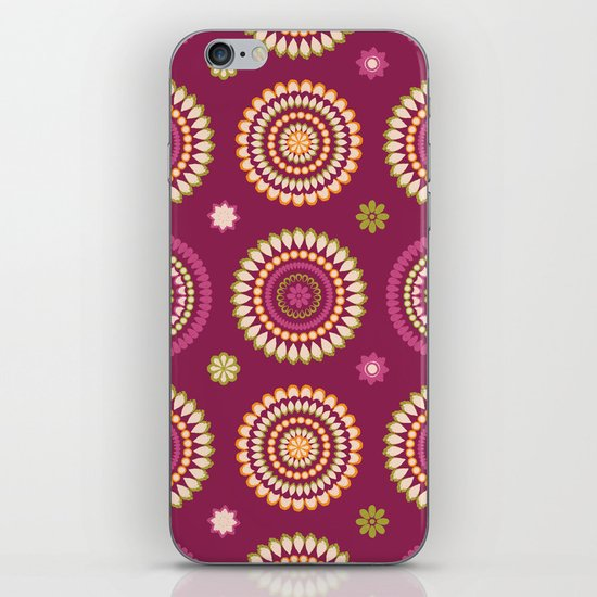 Ethnic Circles iPhone & iPod Skin