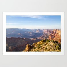 Grand Canyon Desert View Art Print