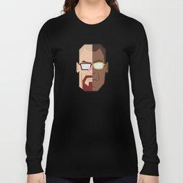 Breaking Bad White/Fring Long Sleeve T-shirt