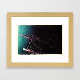 Bodies in Space: Coming Home Framed Art Print