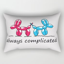 dogs cute Rectangular Pillow