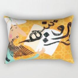 The Teacher Rectangular Pillow