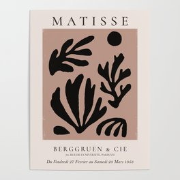 Henri Matisse Print, Matisse Exhibition Poster, Matisse Leaf Poster
