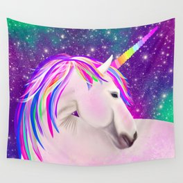 Celestial Unicorn Wall Tapestry