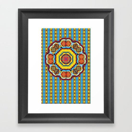 Double Luck Framed Art Print