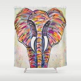 el elefante Shower Curtain