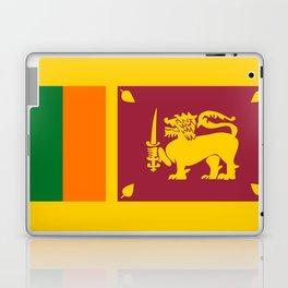 Sri Lanka country flag Laptop & iPad Skin