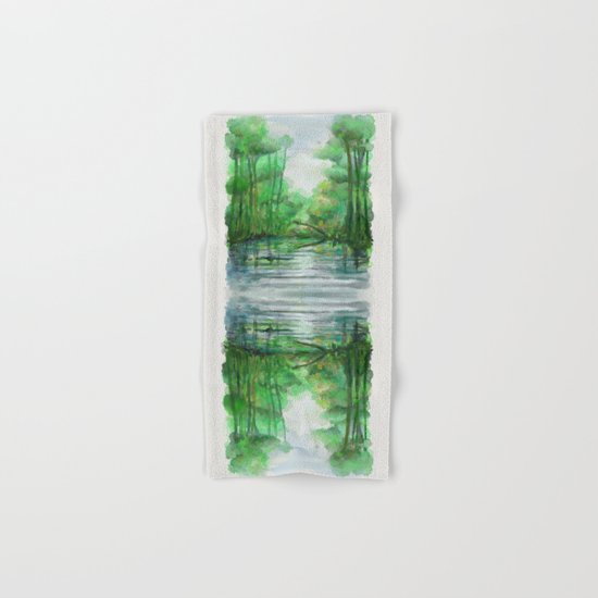 Lost in colors Hand & Bath Towel