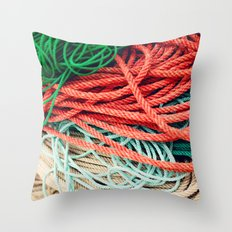 Sailor Rope  Throw Pillow