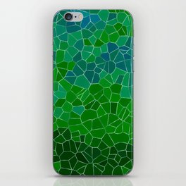 Mosaic Forest iPhone Skin