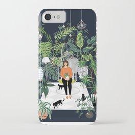 dark room print iPhone Case